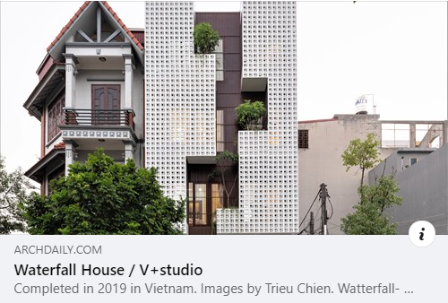 waterfall house - archdaily.com
